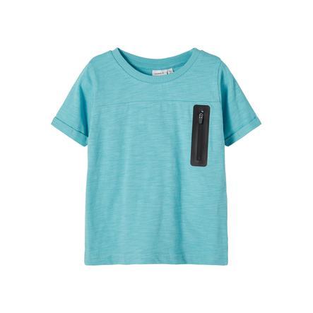 name it T-Shirt Nmmjesper Aqua