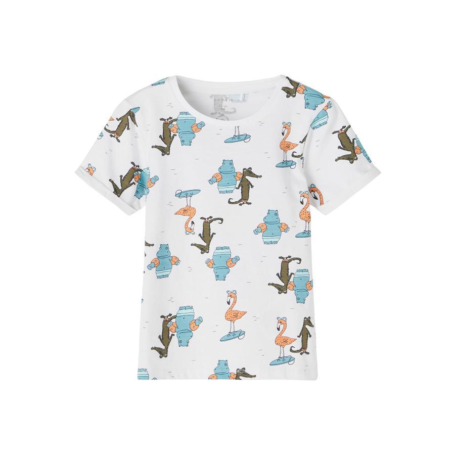 name it T-Shirt Nmmjohan B right  White