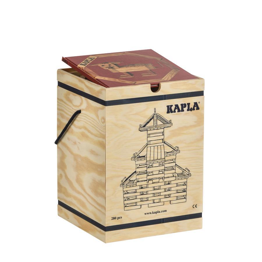KAPLA Boîte de briques enfant bois, 280 pièces