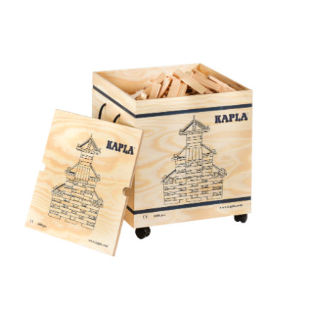 KAPLA Bausteine - Kasten 1000er Box