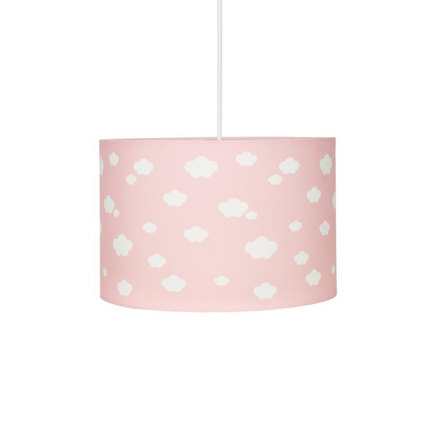 LIVONE Závěsná lampa Happy Style pro děti Cloud 7 růžová/bílá