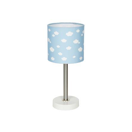 LIVONE Lampe de table enfant Happy Style for Kids nuage bleu/blanc