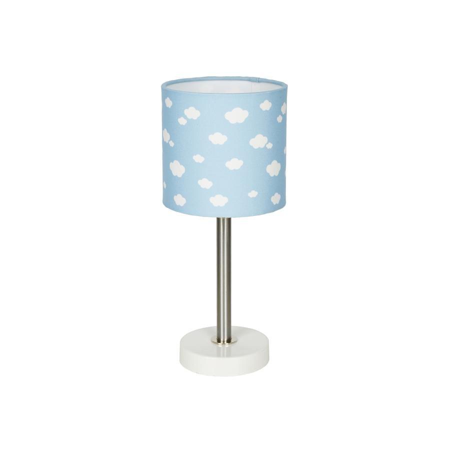 LIVONE Tischlampe Happy Style for Kids Wolke blau/weiss
