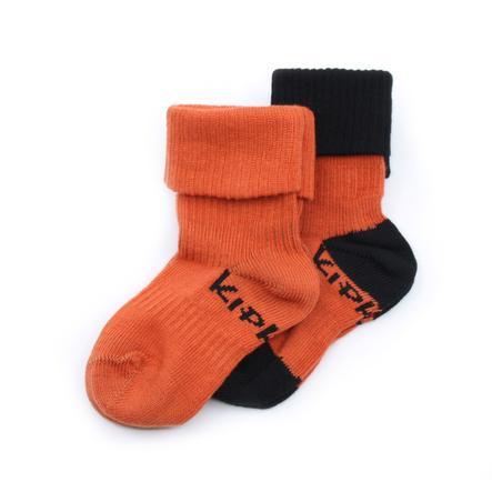 KipKep Stay-On Socken 2er-Pack Rusty Spice