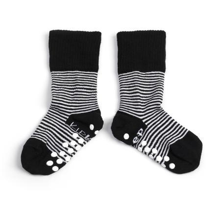KipKep Stay-On Sokken Antislip Black 12 - 18 maanden