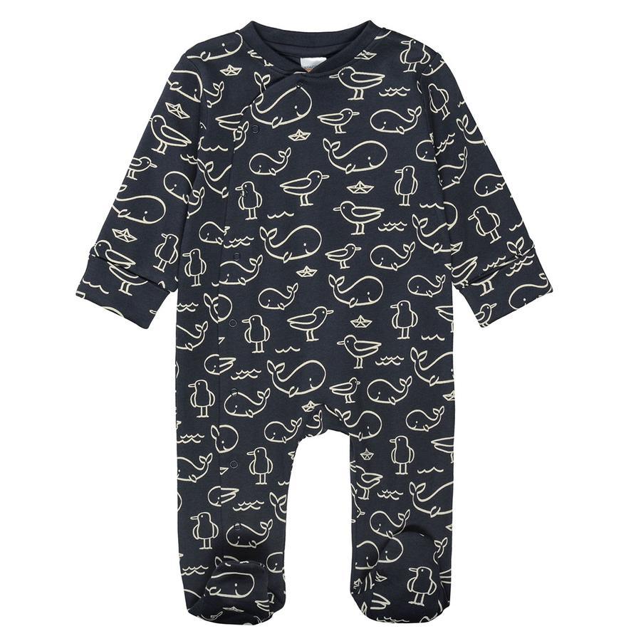 STACCATO Pyjama 1tlg. marine gemustert