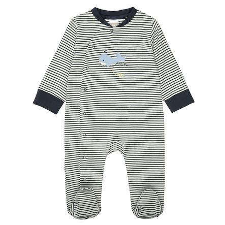 STACCATO Pyjama 1tlg. marine gestreift
