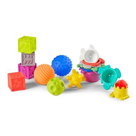 Infantino Sensorische Bauklötze, Bälle & Tassen
