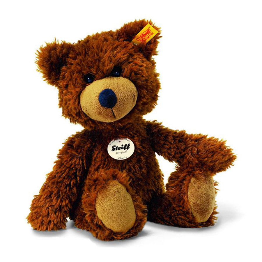 STEIFF Dangling Teddy Bear Charly, 16 cm, brown