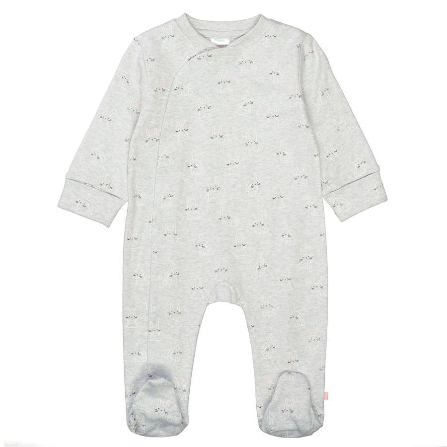 STACCATO Pyjama 1tlg. stone melange gemustert