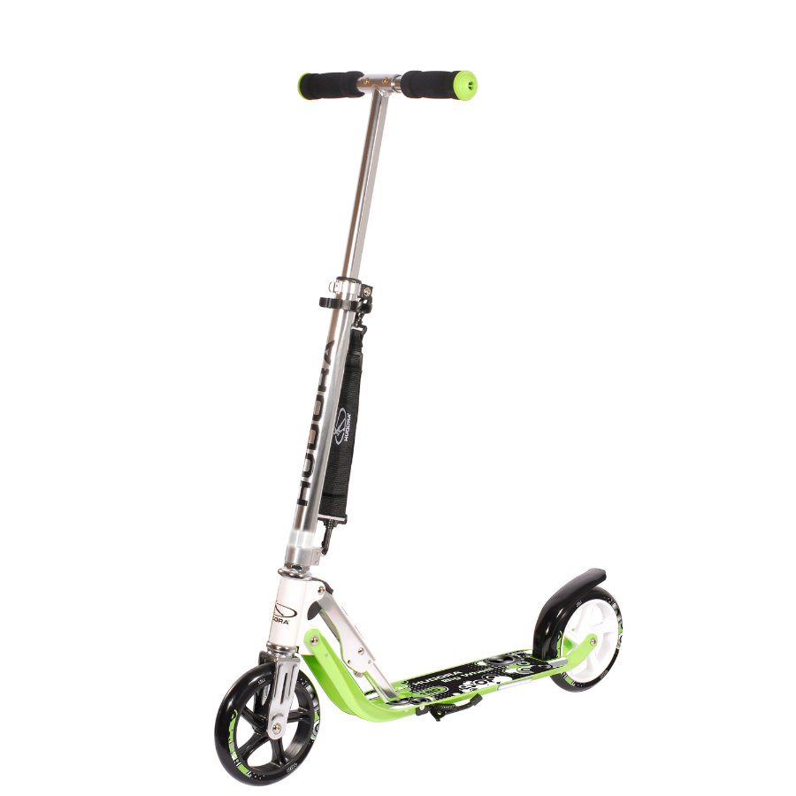 HUDORA Hulajnoga Scooter Big Wheel 180 zielona 14745