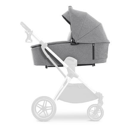 hauck Kinderwagenbevestiging Vision x Melange Grijs