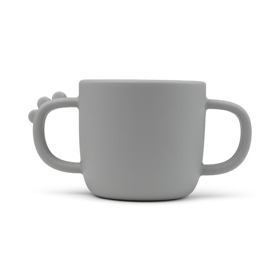 Done by Deer ™ Peekaboo mug Croco i grå