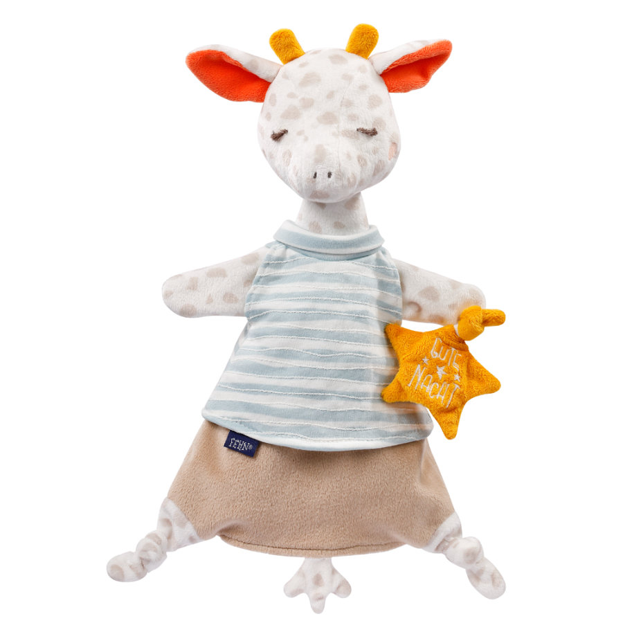 fehn® Schmusetuch Handpuppe Giraffe