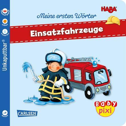 CARLSEN Baby Pixi (unkaputtbar) 95: HABA Erste Wörter: Einsatzfahrzeuge
