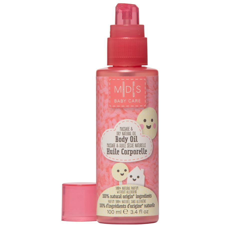 MADES BABY CARE Körperöl, Massage- & Trockenöl Natur, 100 ml