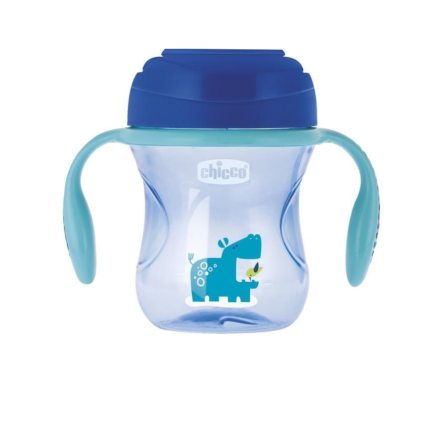 chicco Trinklernbecher Perfect blau ab dem 12. Monat