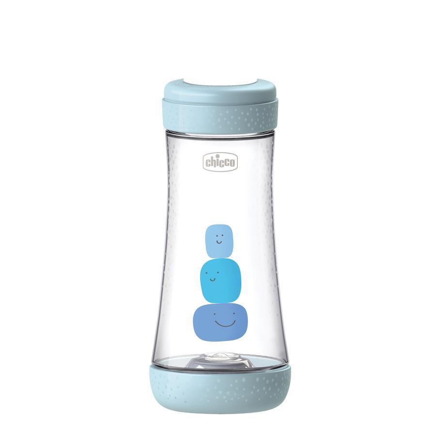 chicco Babyfläschchen Perfect Silikon, Schneller Fluss 300ml, boy, 4M+