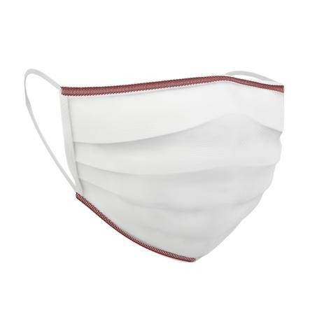 chicco mascarilla médica lavable 3-6 años, 4 piezas, blanco