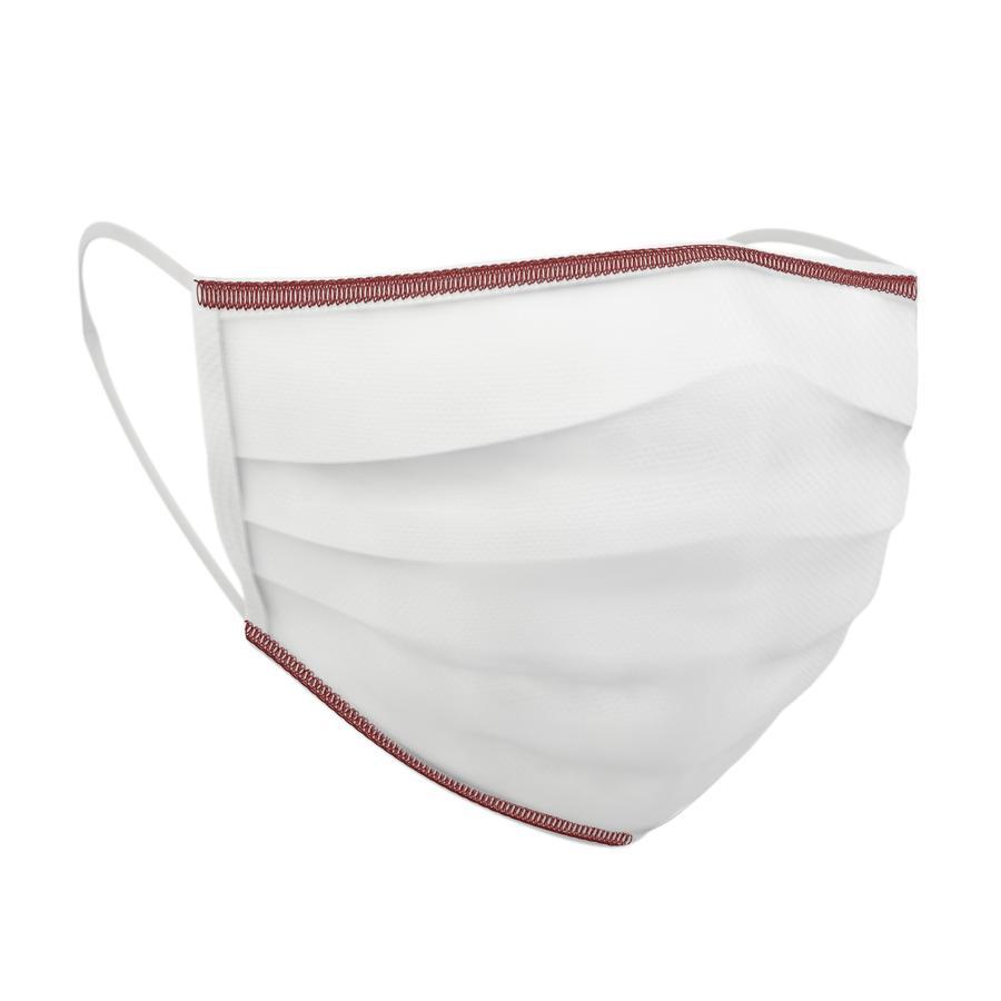 chicco masque facial médical lavable 7-11 ans, 4 pièces, blanc