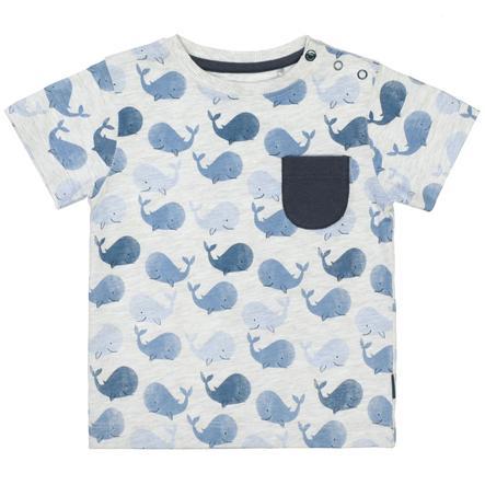 STACCATO T-Shirt whale gemustert
