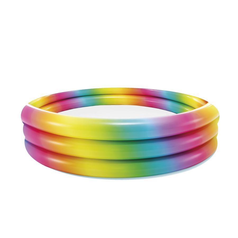 INTEX® 3-Ring-Pool Rainbow Ombre - 168 x 38 cm