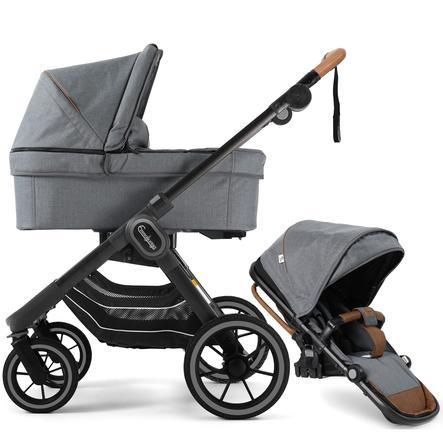 Emmaljunga Kombikinderwagen NXT90 Outdoor Granit Limited