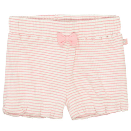 STACCATO Shorts soft pink gestreift
