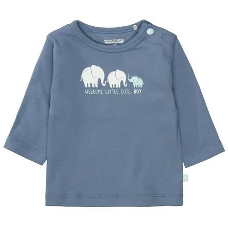 STACCATO  Camisa vaquera azul suave