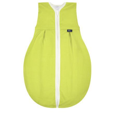 Alvi® Kugelschlafsack Molton Bunte Welt grün
