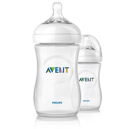 2 lahvičky AVENT 260 ml SCF693/27
