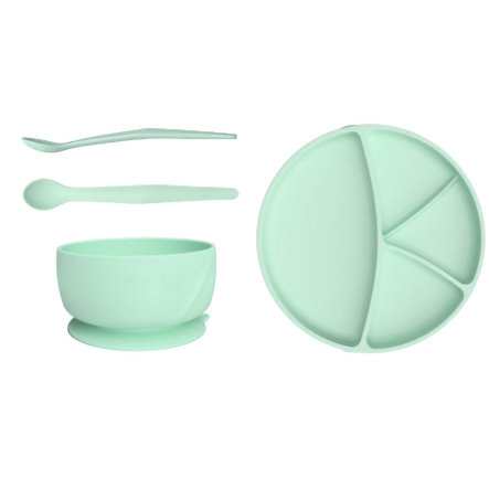 everyday Baby Esslern Starter-Set in mint green