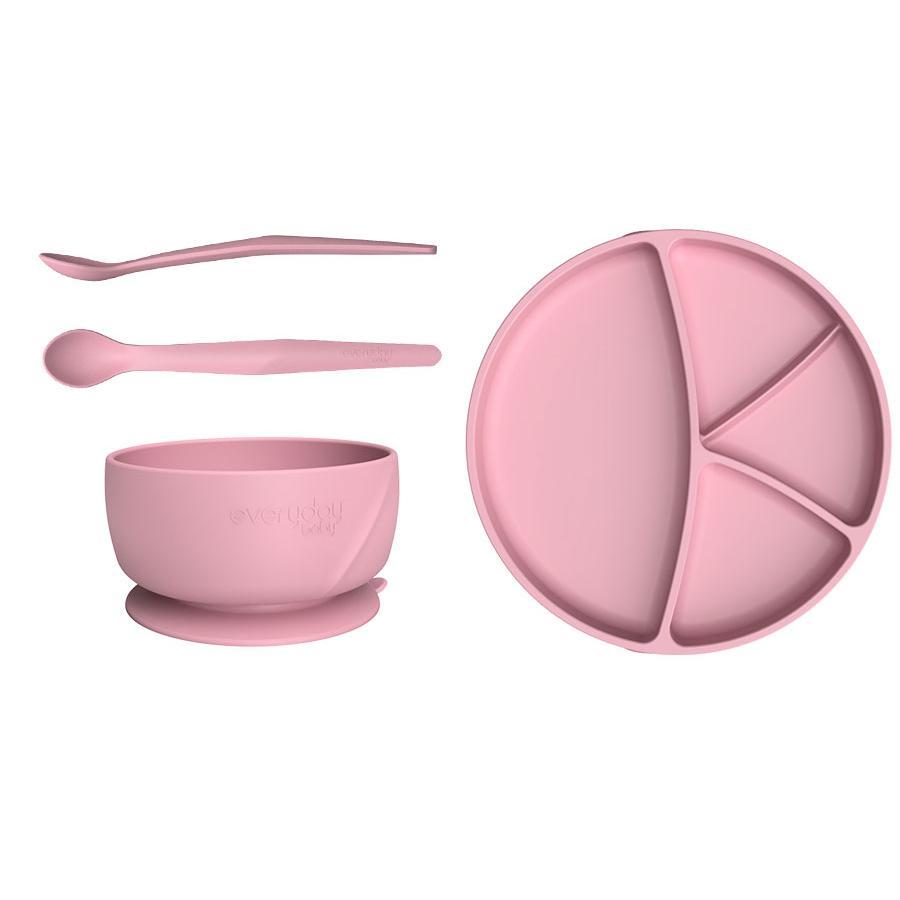 everyday Baby Starter Set da mangiare in purple rosa