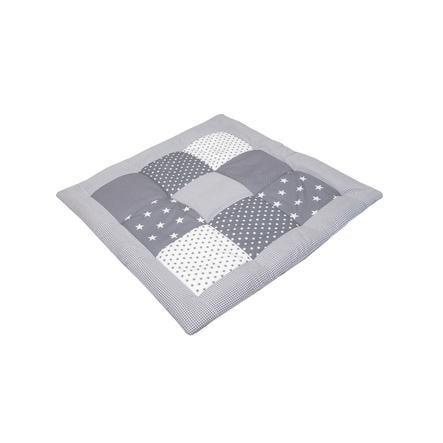Ullenboom Krabbeldecke & Laufgittereinlage 80X80 cm Graue Sterne