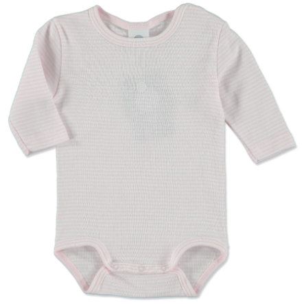 SANETTA Girls Baby Body Ringel rosé