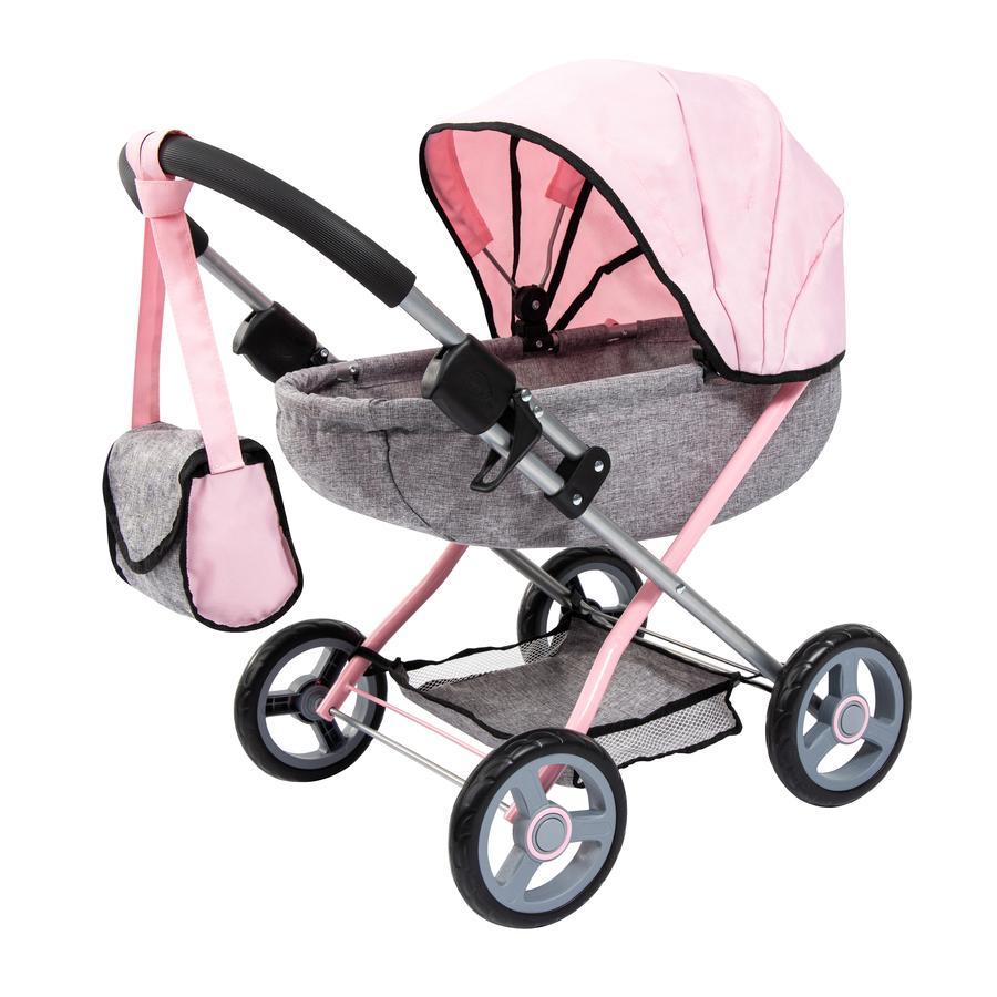bayer Design Puppenwagen Cosy grau, mit Schmetterling