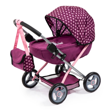 bayer Design Puppenwagen Cosy Pflaume