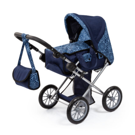 bayer Design Puppenwagen City Star blau