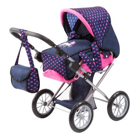 bayer Design Puppenwagen City Star mit Einhorn