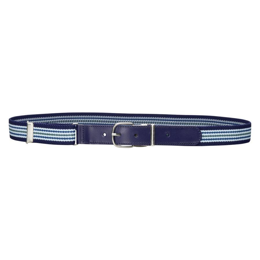 PLAYSHOES Leder-Elastický pásek hellblau/marine