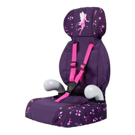 bayer Design Puppen-Autositz Deluxe lila, mit Fee