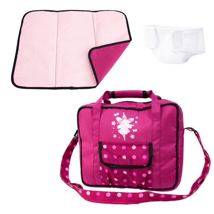 bayer Design Pflegetasche bordeaux, mit Fee