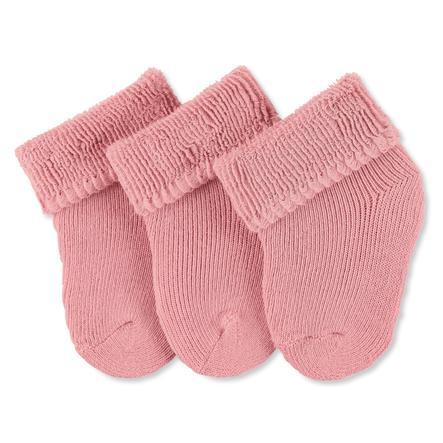 Sterntaler first socks 3-pack rosa