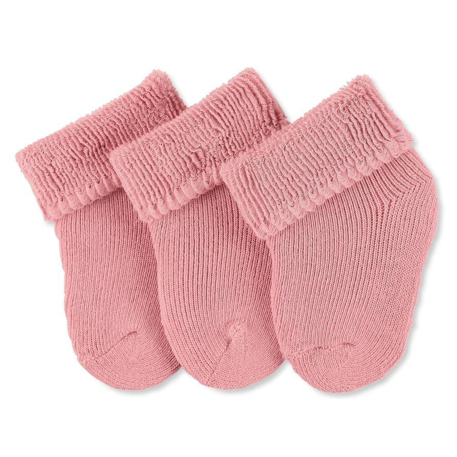 Sterntaler primi calzini 3-pack rosa