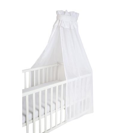 roba Babybedhemel veilig slapen luifel uni, wit