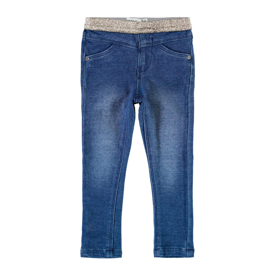 name it Legging Nmfpolly Medium Blue Denim