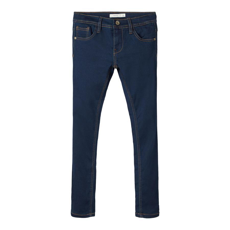 name it Jeans Nkmrobin Dark Blue Denim