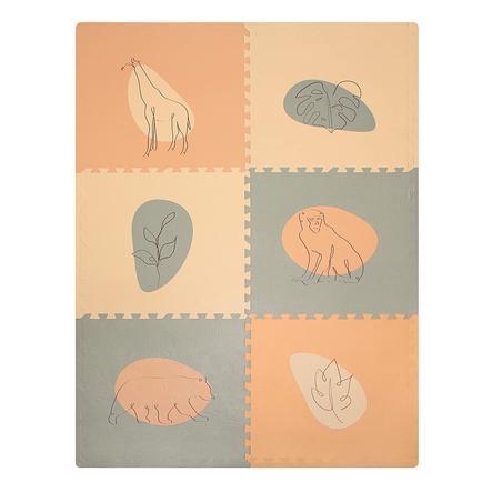 Hakuna Matte XXL Puzzlematte – Jungle Sunset 180x120 cm