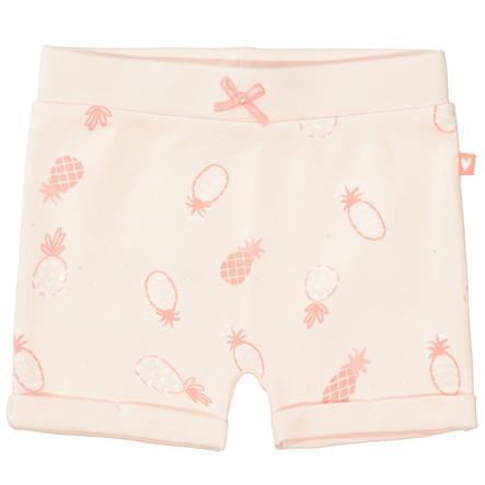 STACCATO  Shorts miękka peach wzorzysta