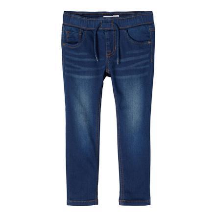 name it Jeans Nmmrobin Dark Blue Denim